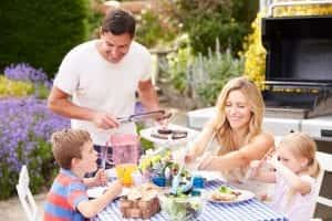 grilling safety in the backyard