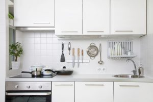 save space in a small kitchen